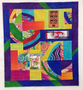 Beach Bound Mini Quilt