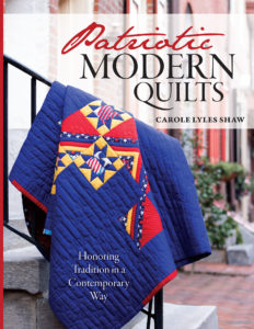 https://www.amazon.com/Patriotic-Modern-Quilts-USA-Contemporary/dp/0990771121/ref=sr_1_1?ie=UTF8&qid=1507412845&sr=8-1&keywords=patriotic+modern+quilts